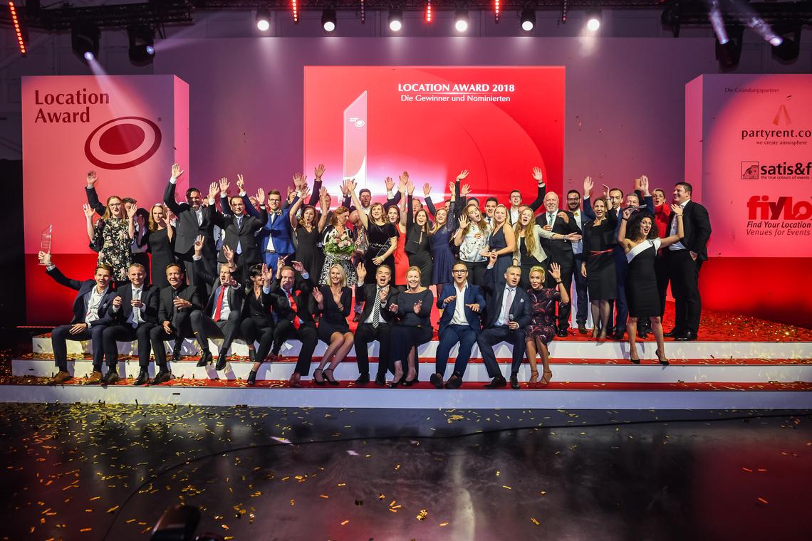 Das sind die Sieger beim Location Award - Glanz und Gloria für die besten Eventlocations 2018