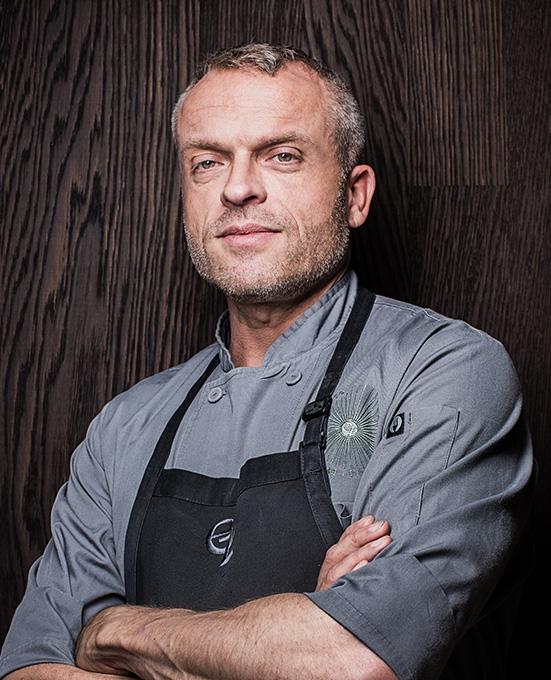 Eyck Zimmer / Küchendirektor und Schirmherr der gesamten andel's Gastronomie